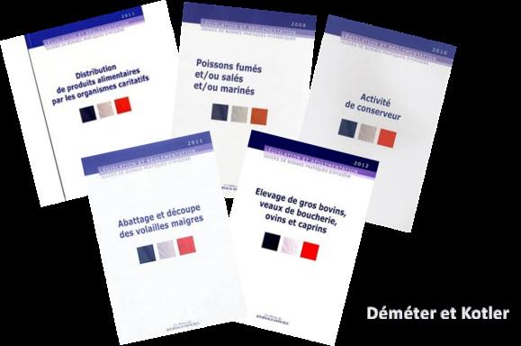 Exemples de Guides de bonnes pratiques d'hygiène publiés au Journal Officiel
