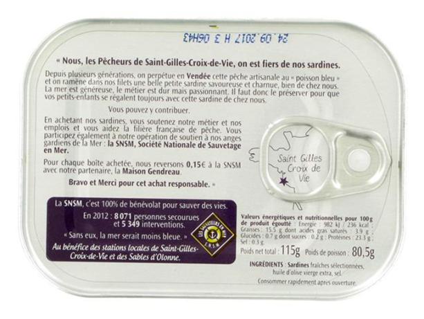 Story-telling de la sardine de Saint-Gilles-Croix-de-Vie